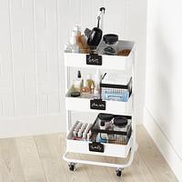 Toiletries Storage Cart Starter Kit
