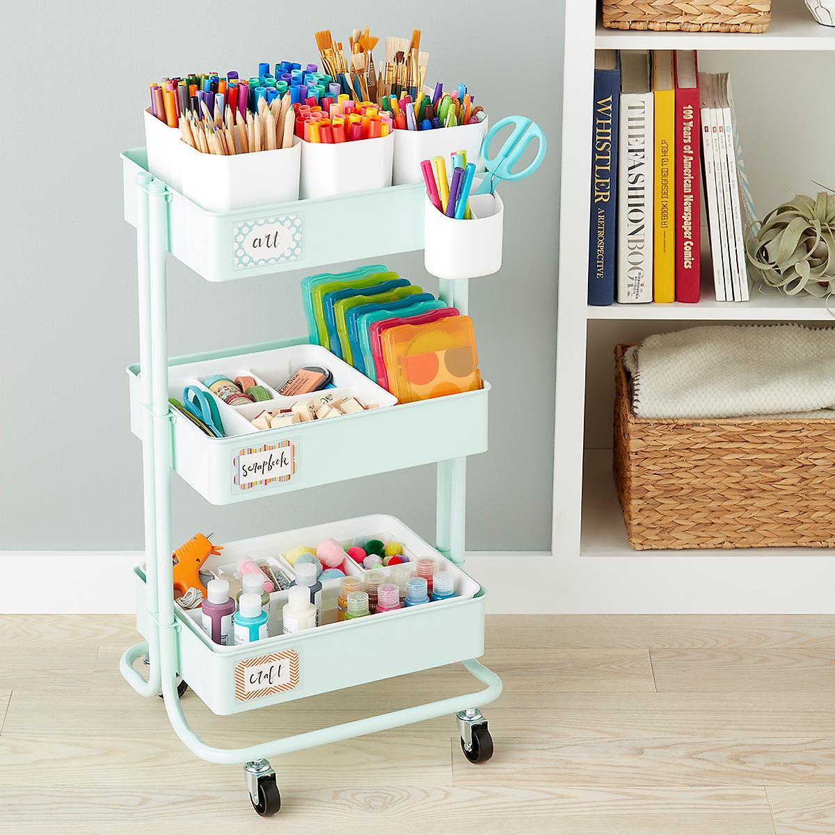 Arts & Crafts Storage Cart Starter Kit