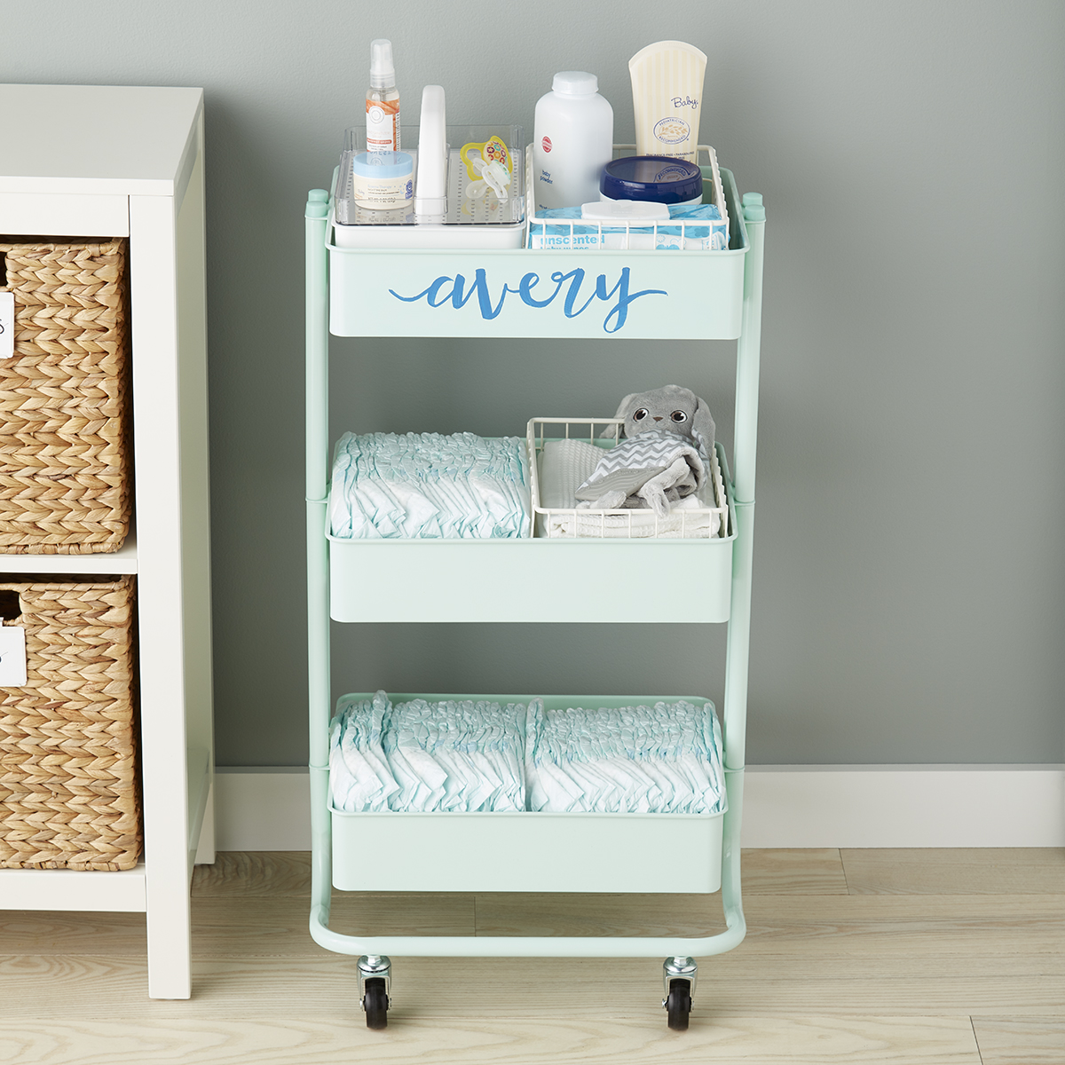 Nursery Storage Cart Starter Kit