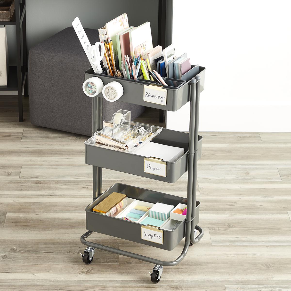 Office Storage Cart Starter Kit
