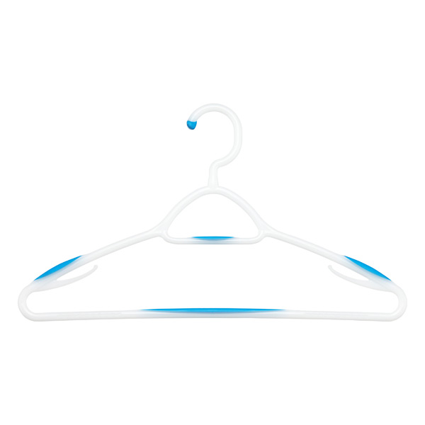 Blue Soft-Touch Hangers