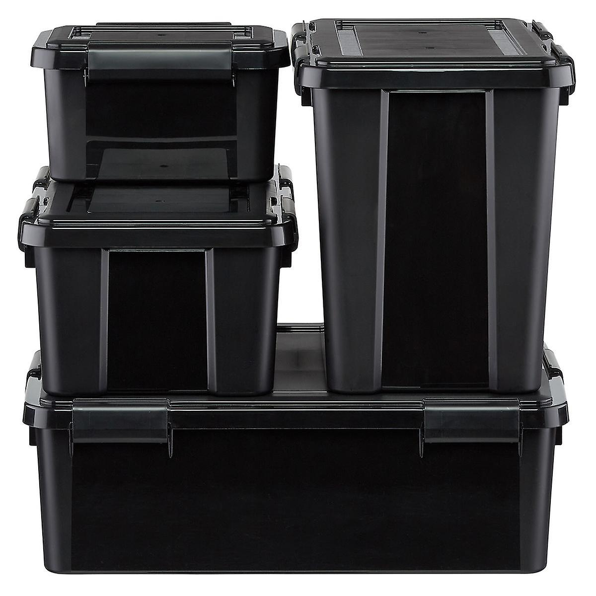 Black Weathertight Totes Cases