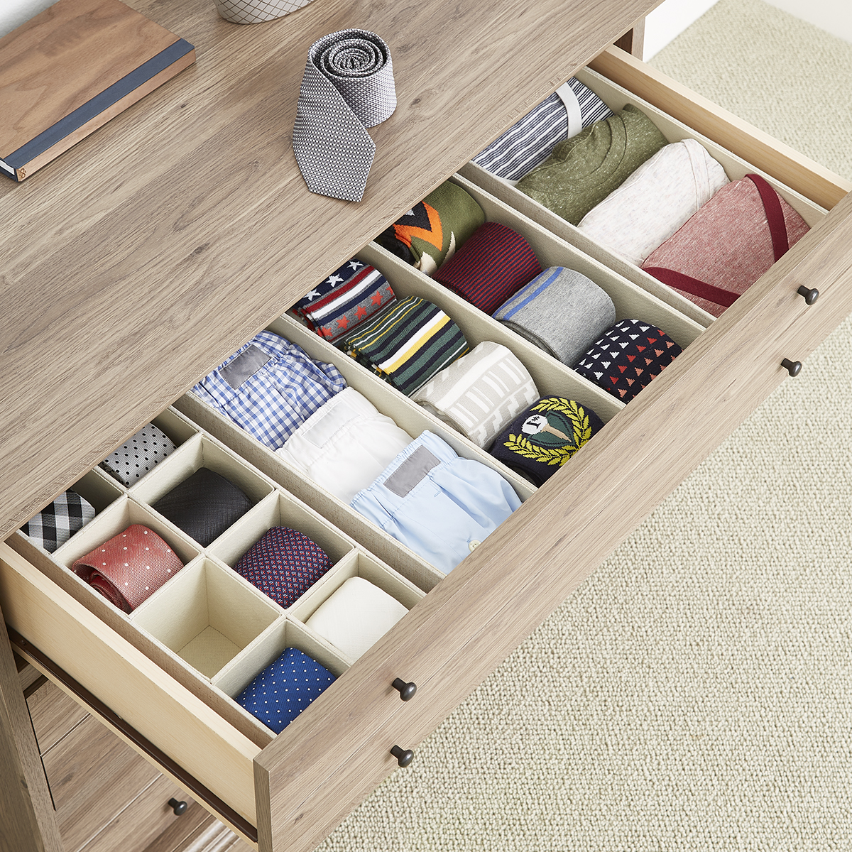 Linen Cambridge Drawer Organizers