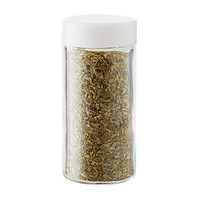 3 oz. Glass Spice Bottle with White Lid