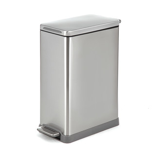 Stainless Steel 12 gal./45L Rectangle Step Can