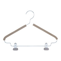 Metal Clothes Hangers Chrome Hangers The Container Store