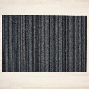 Chilewich Blue Skinny Stripe Door Mat