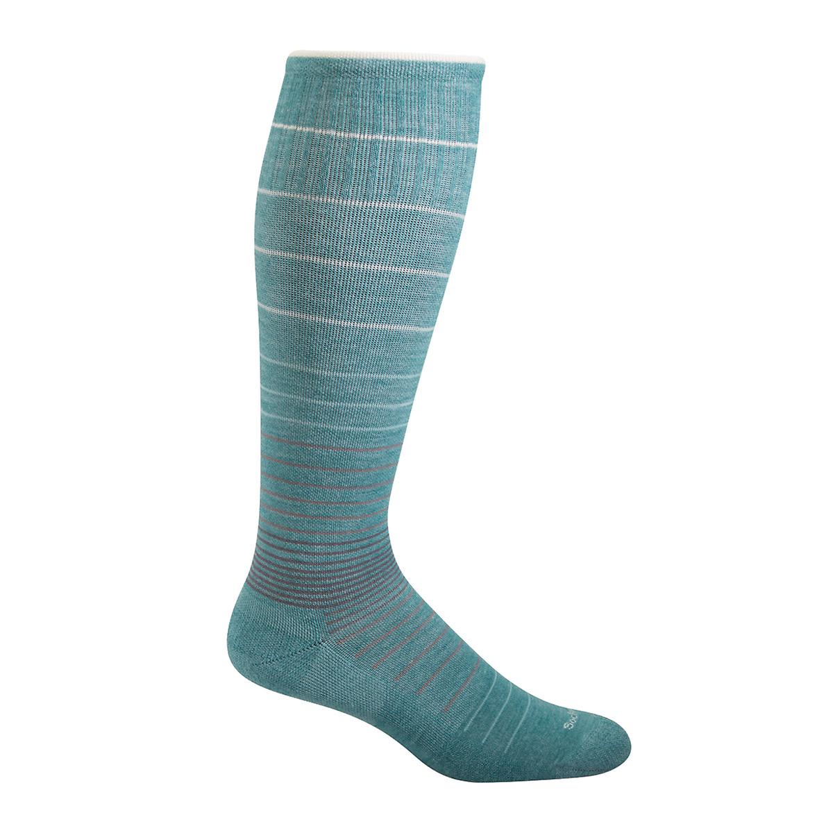 Mineral Blue Compression Socks