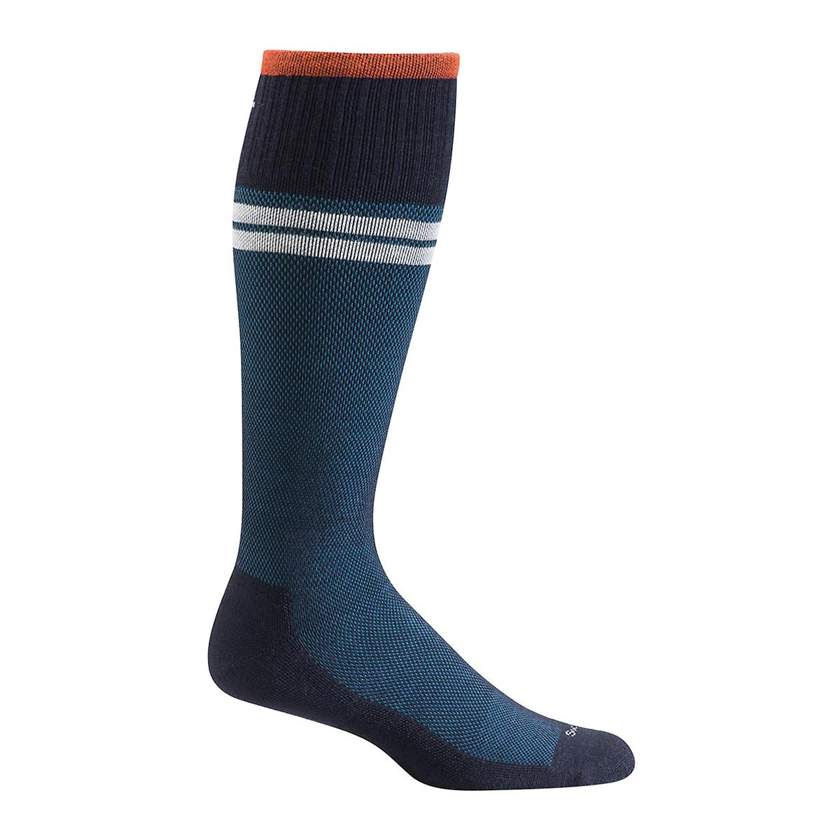 Navy Sportster Compression Socks