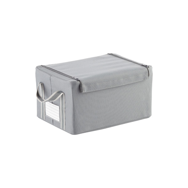 Grey Fabric Storage Boxes by reisenthel