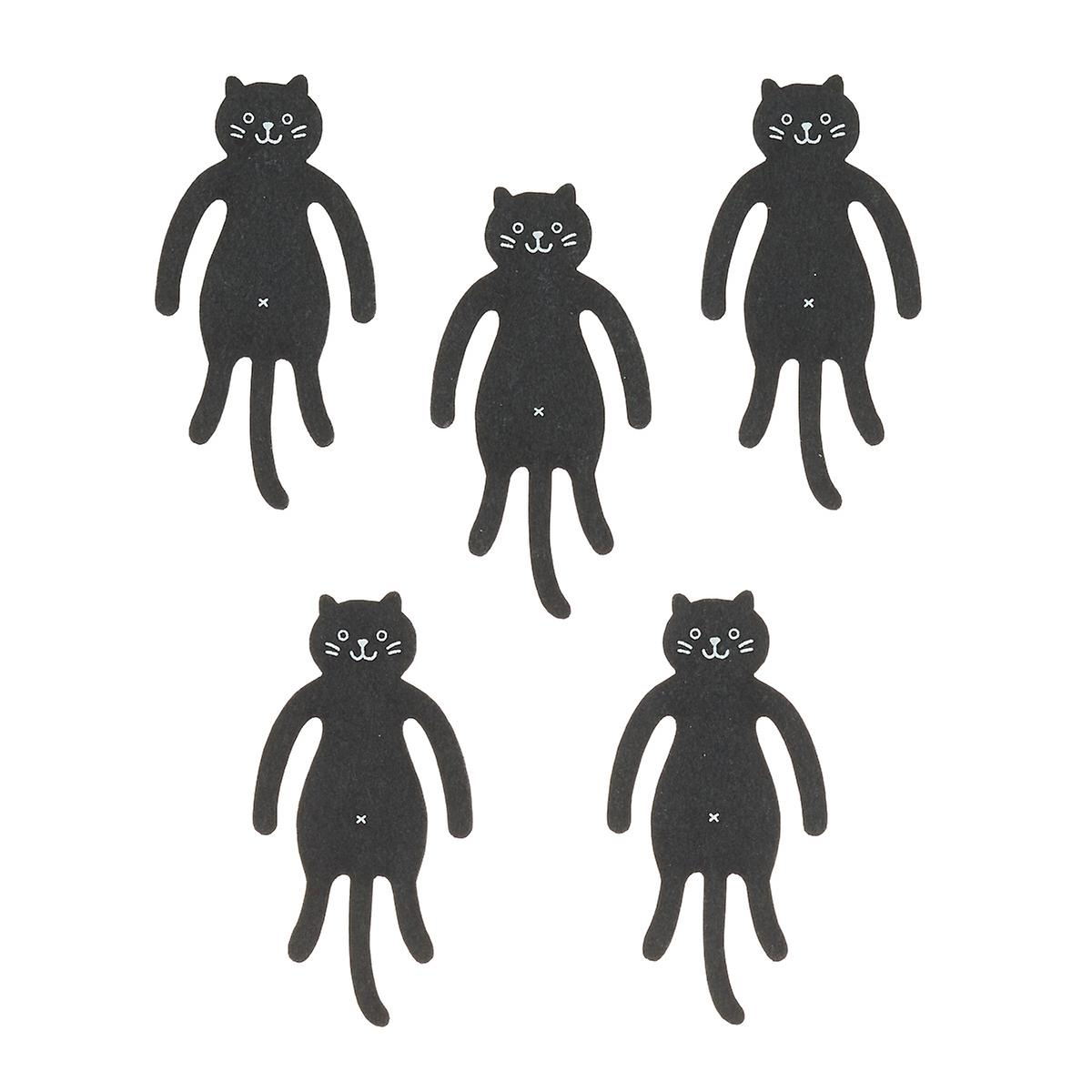 Cat Pliable Paper Clips & Bookmark