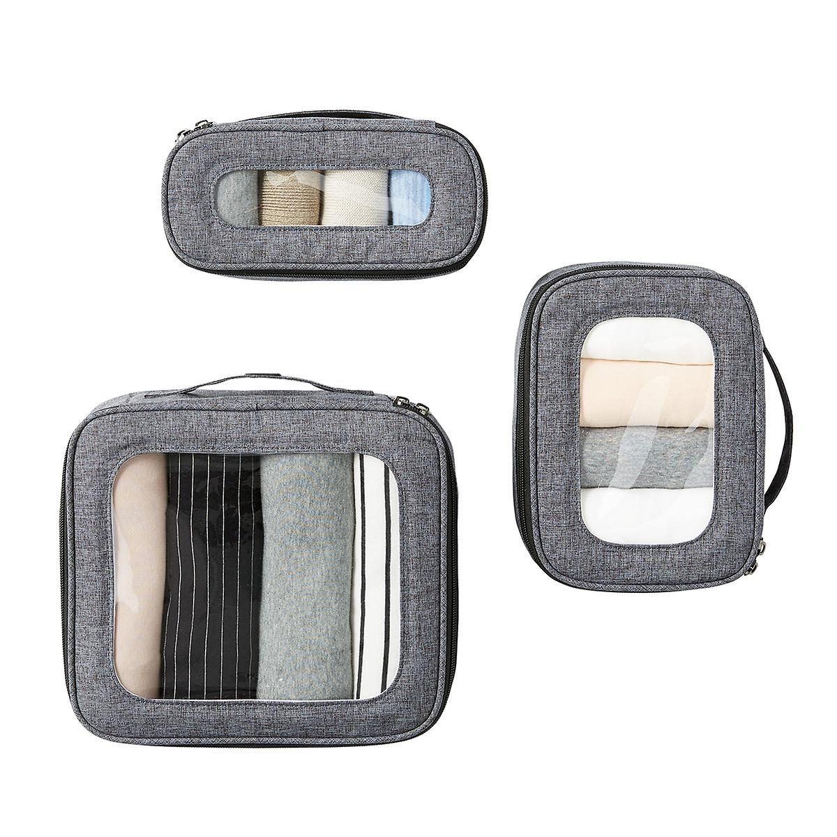 Lug Heather Grey Bento Box Packing Set