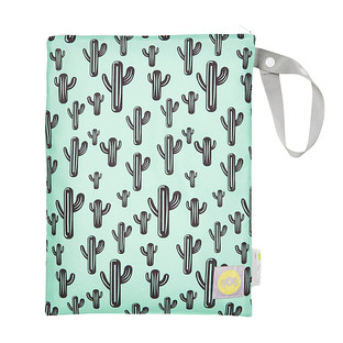 Travel Happens Cactus Wet Bag
