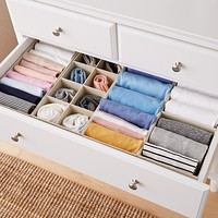 28 X 14 Linen Drawer Organization Solution