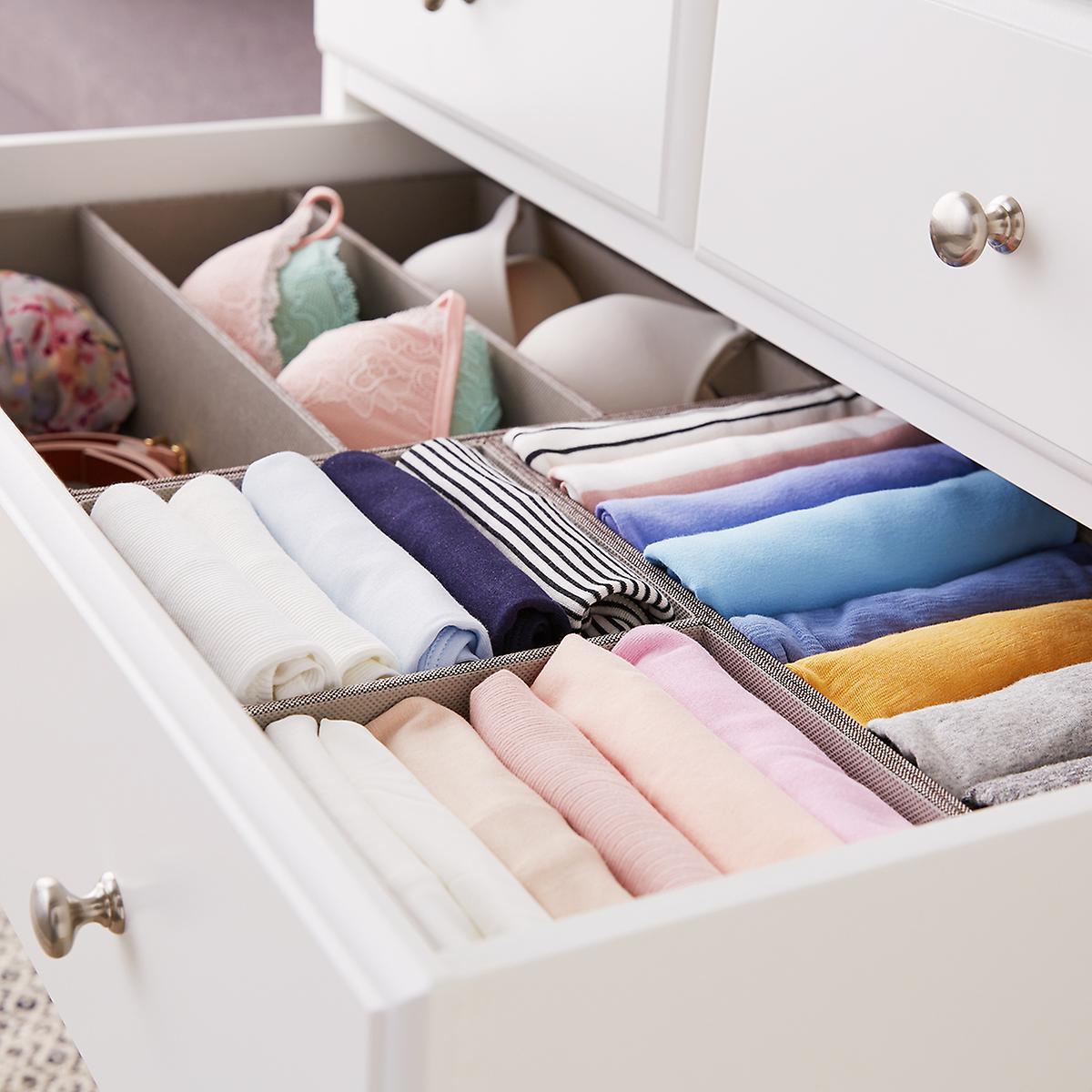 28 x 14 Grey Drawer Organization Starter Kit