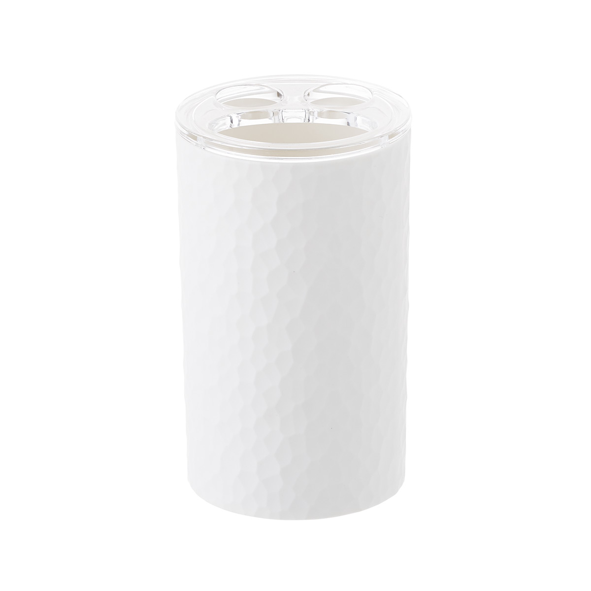 White Alpine Toothbrush Holder