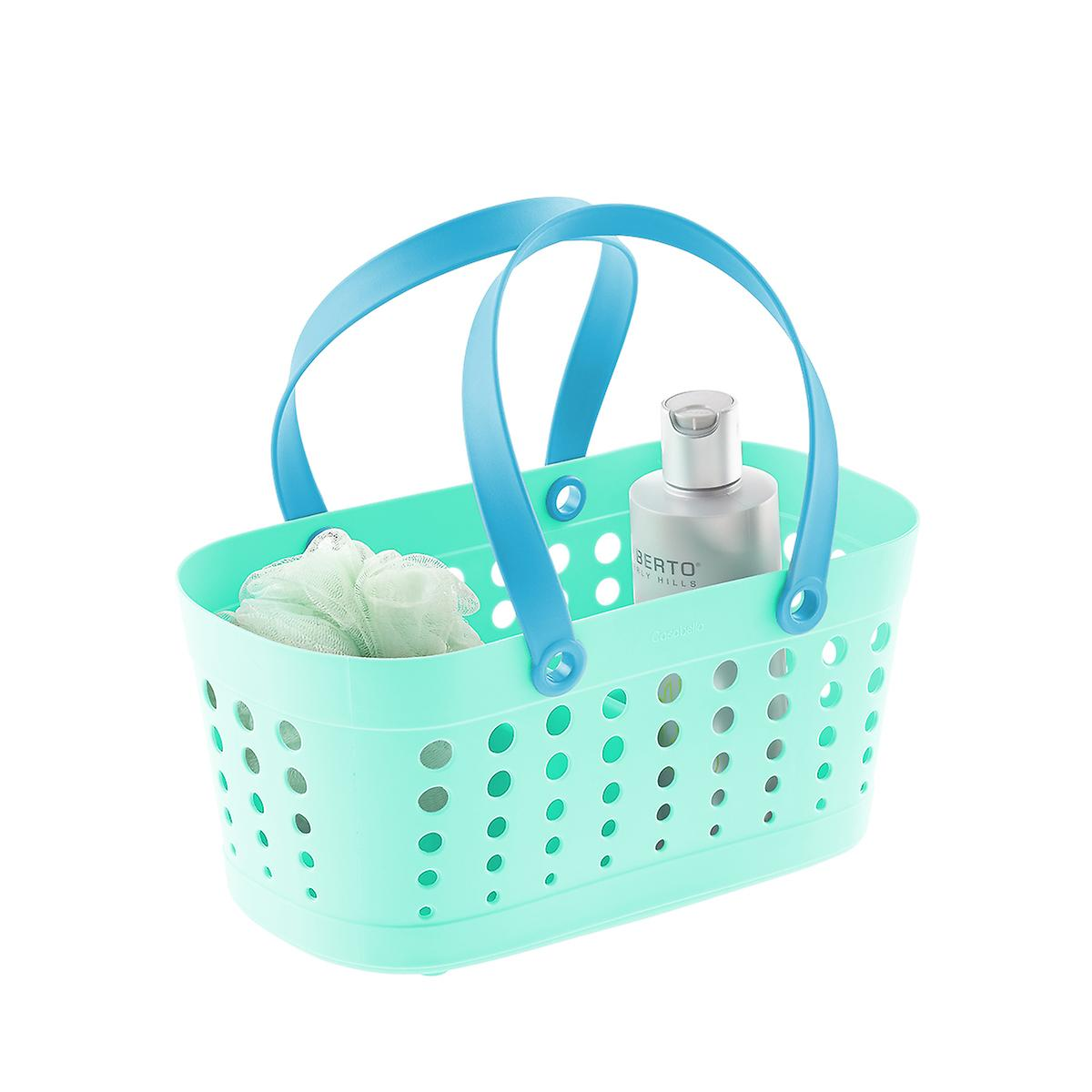 Casabella Turquoise Flexible Shower Basket