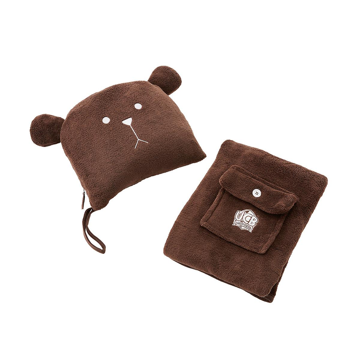 Lug Undercover Bear Travel Pillow & Blanket