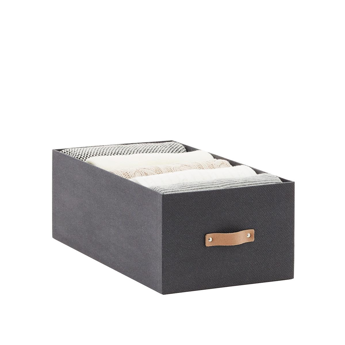 Charcoal Avera Storage Bins