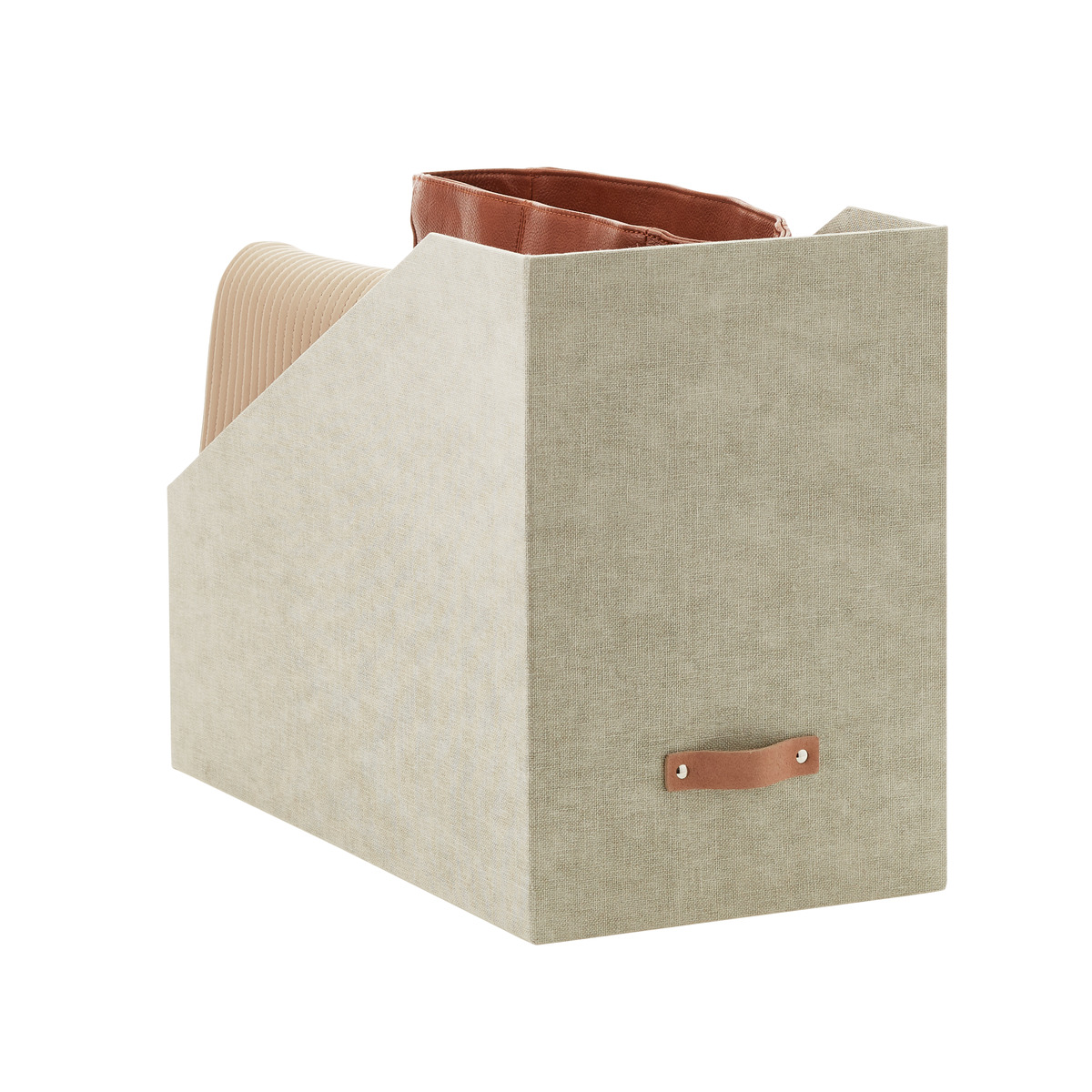 Avera Linen Purse Storage Bins