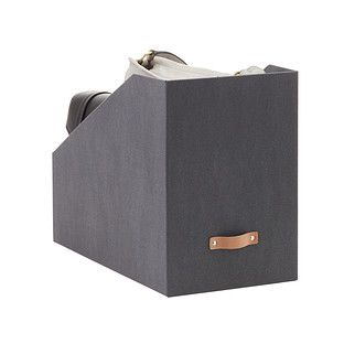 Avera Charcoal Purse Storage Bins