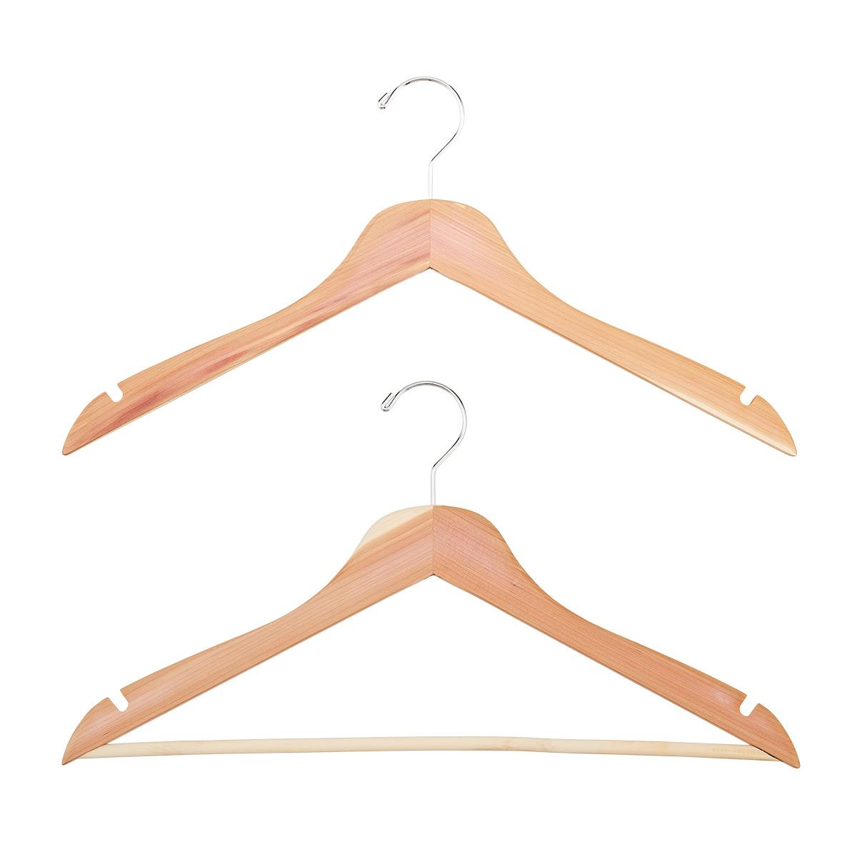 Basic Cedar Shirt Hangers Pkg/4