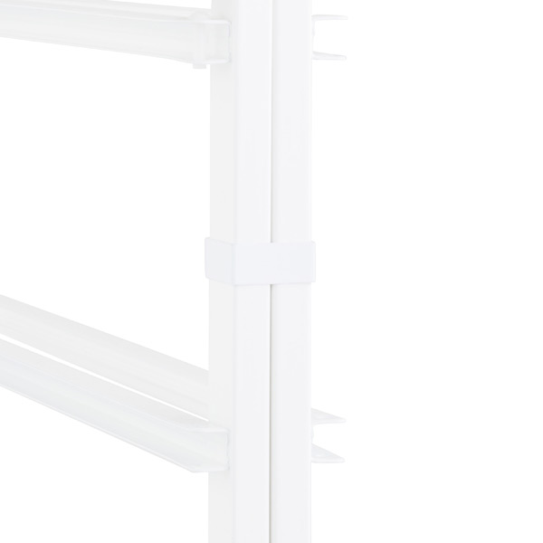 White elfa Frame Clips