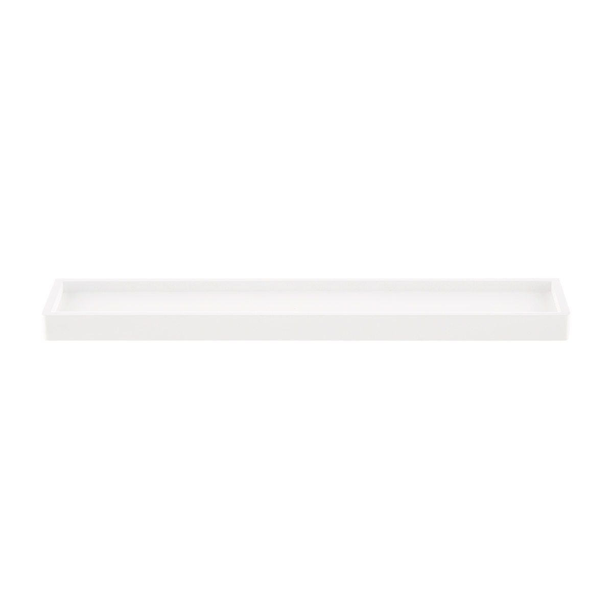 White Elfa Décor Accessory Shelf
