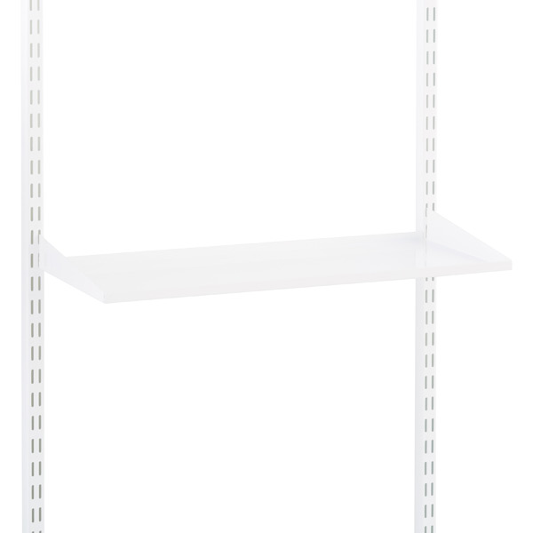 "White 10"" Elfa Utility Shelf/Trays"