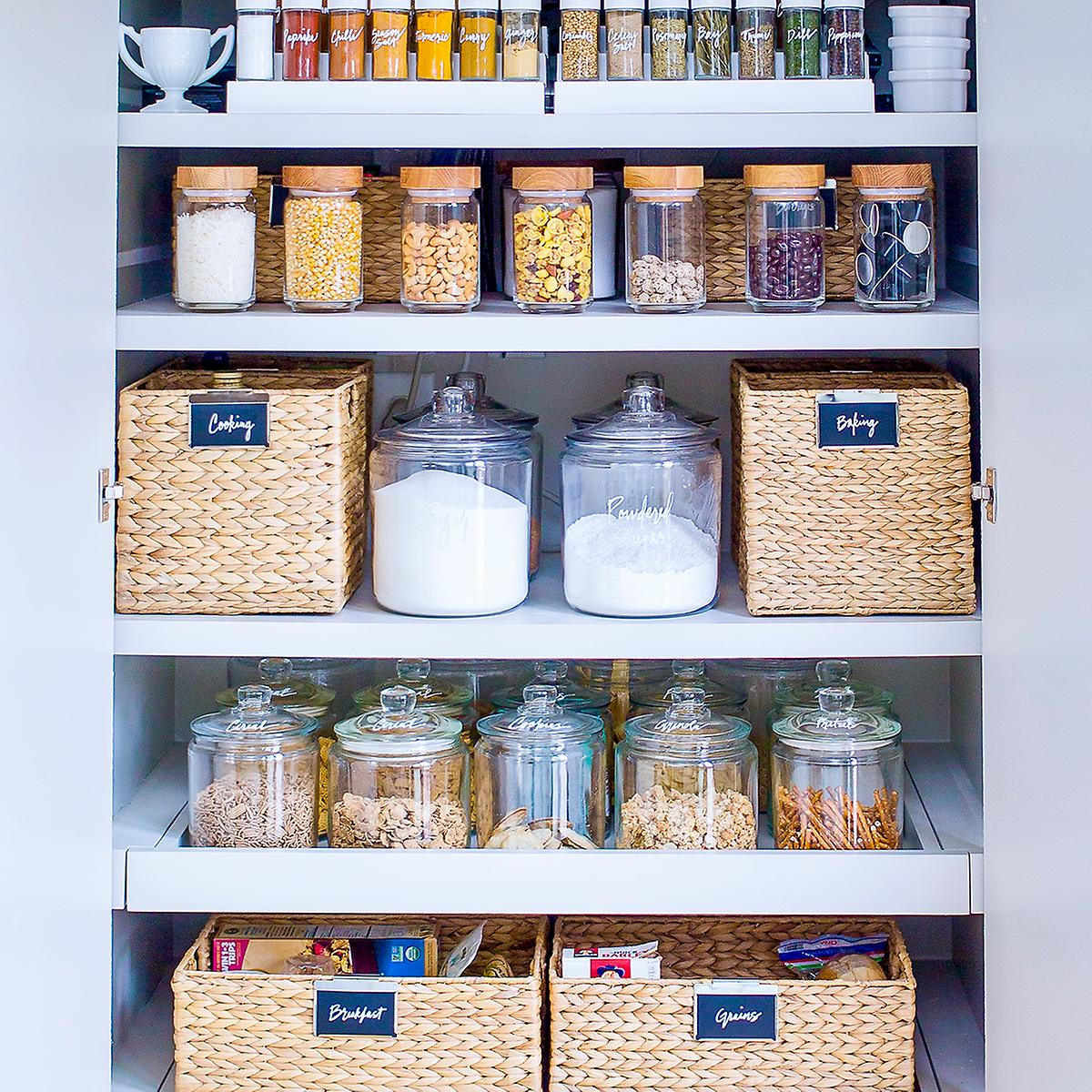 The Home Edit Pantry