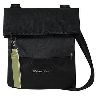 Sherpani Pica Black Crossbody Bag