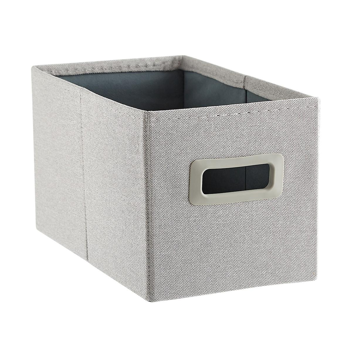 Light Grey Poppin 3x2 Storage Bin