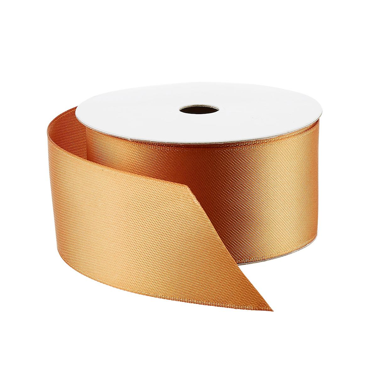 Camel Double-Faced Satin Ribbon