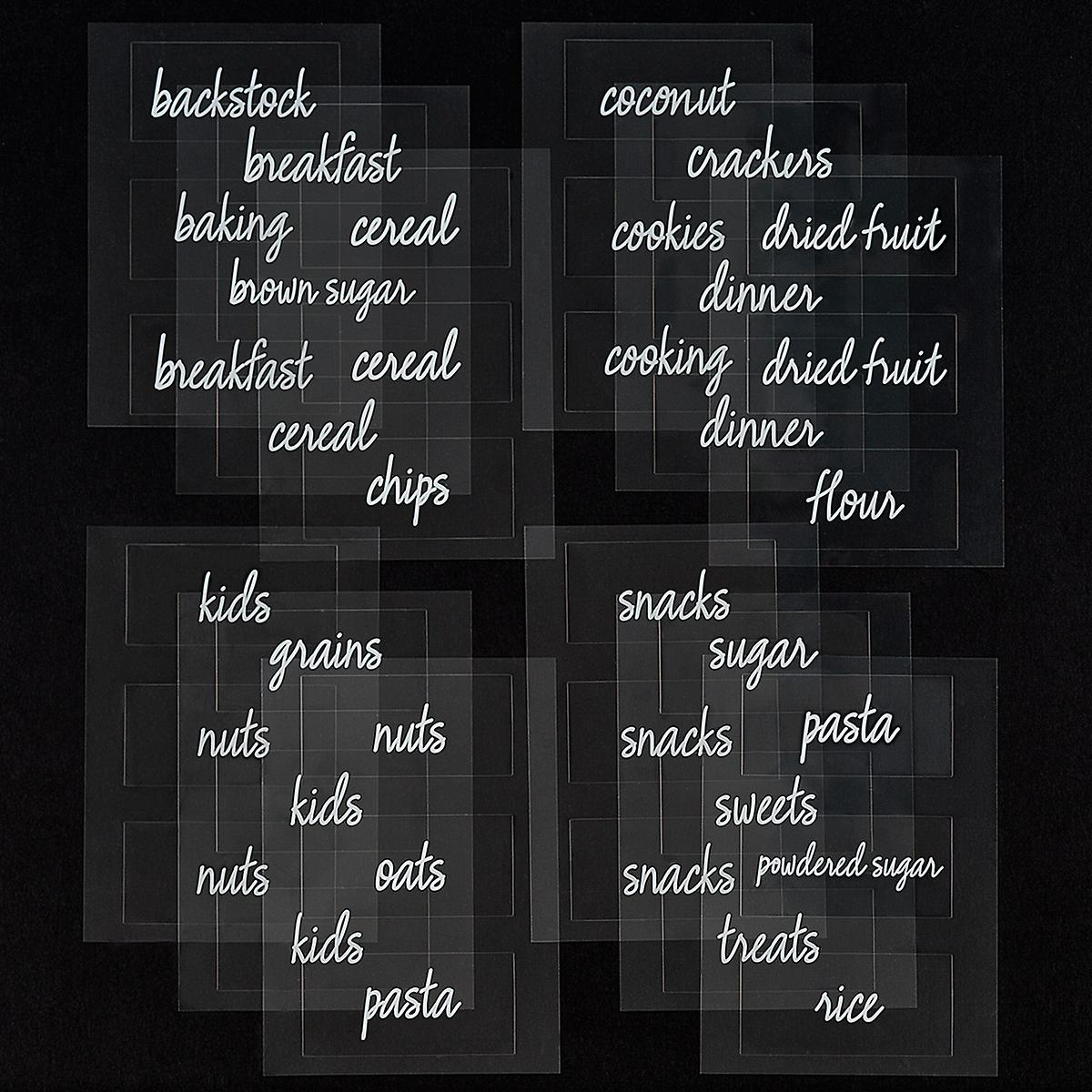 The Home Edit Pantry Labels