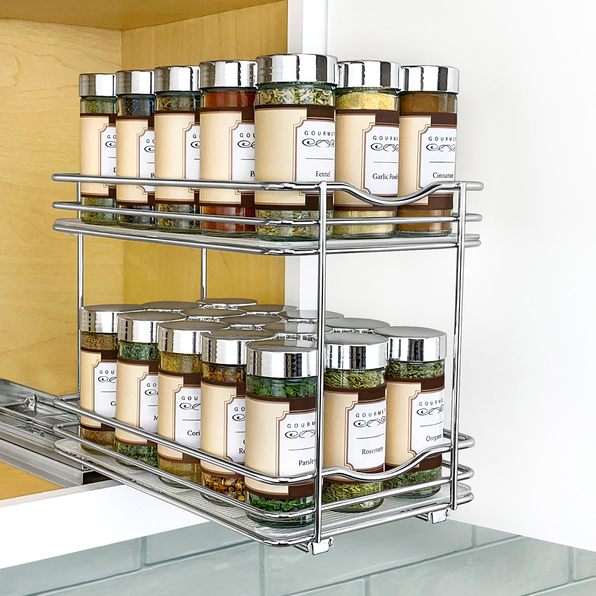 Lynk Professional Double Spice Racks