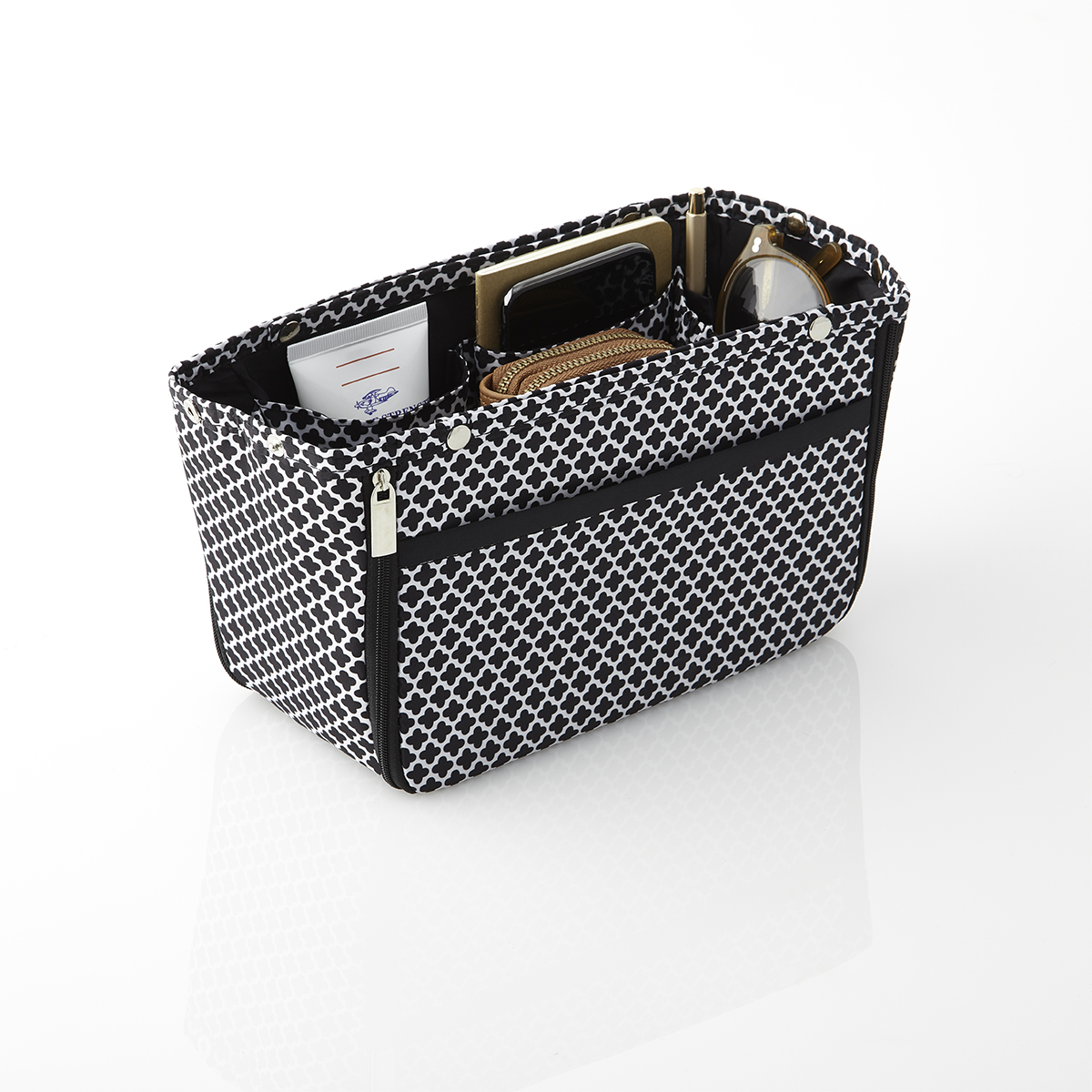 in.bag Black Moroccan Purse Organizer