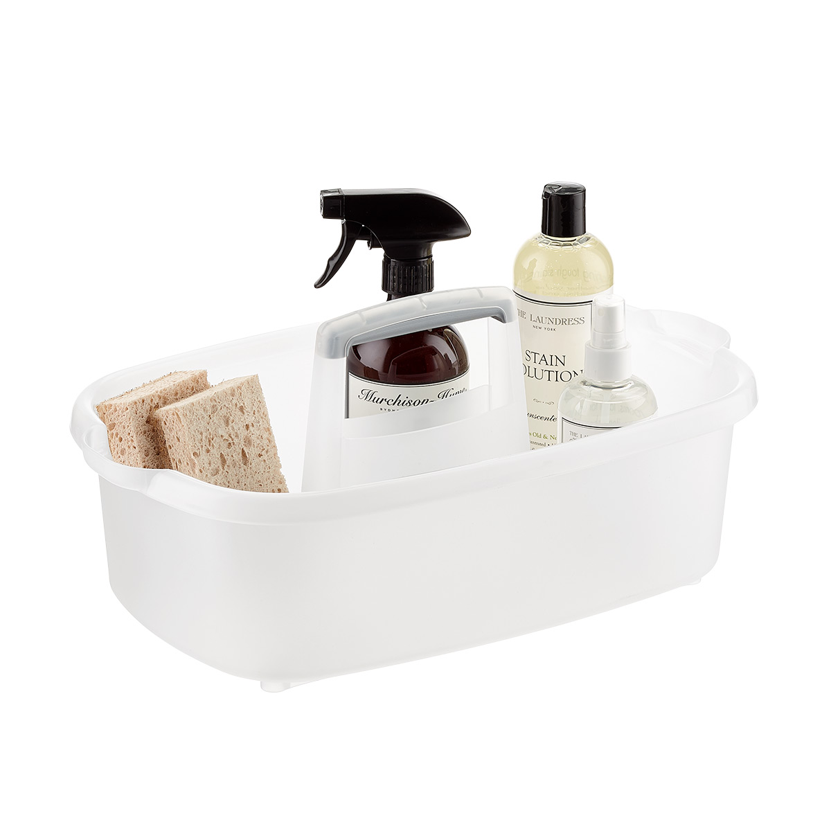 Casabella Rectangular Cleaning Caddy with Handle