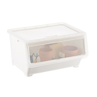 Picking Bin with Dual Open Lid