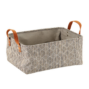 Diamonds Kiva Foldable Bin with Handles