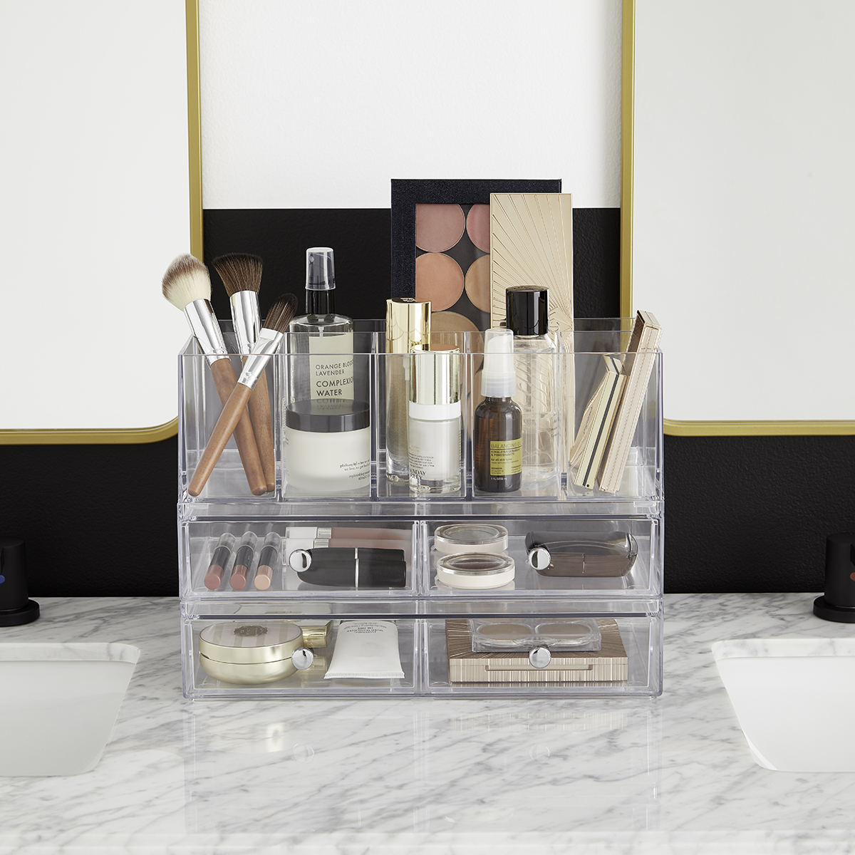 iDesign Clarity Stackable Makeup System
