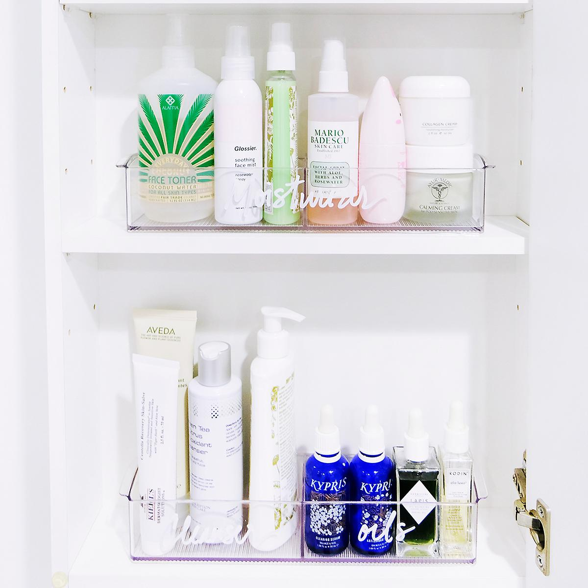 The Home Edit Skin Saving Cabinet