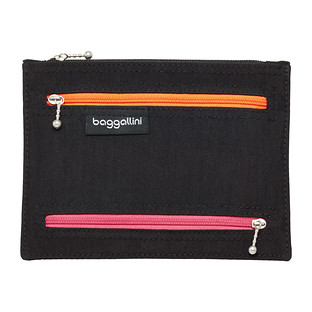 baggallini RFID-Blocking Passport & Currency Organizer
