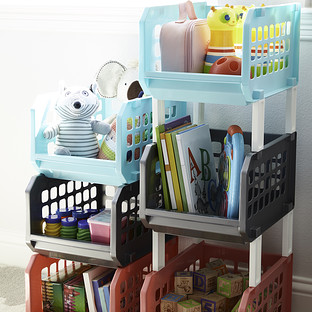 Stacking Storage Bins Pkg/3