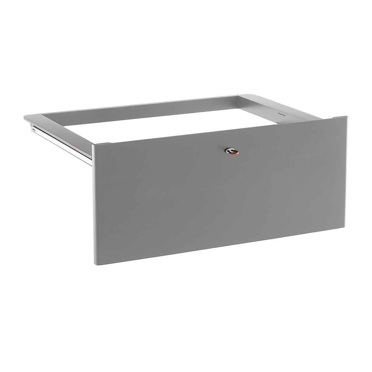 Grey Elfa Décor Drawer Frames & Fronts