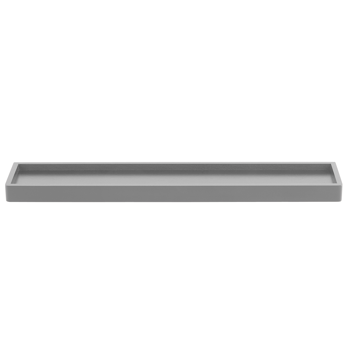 Grey Elfa Décor Accessory Shelf