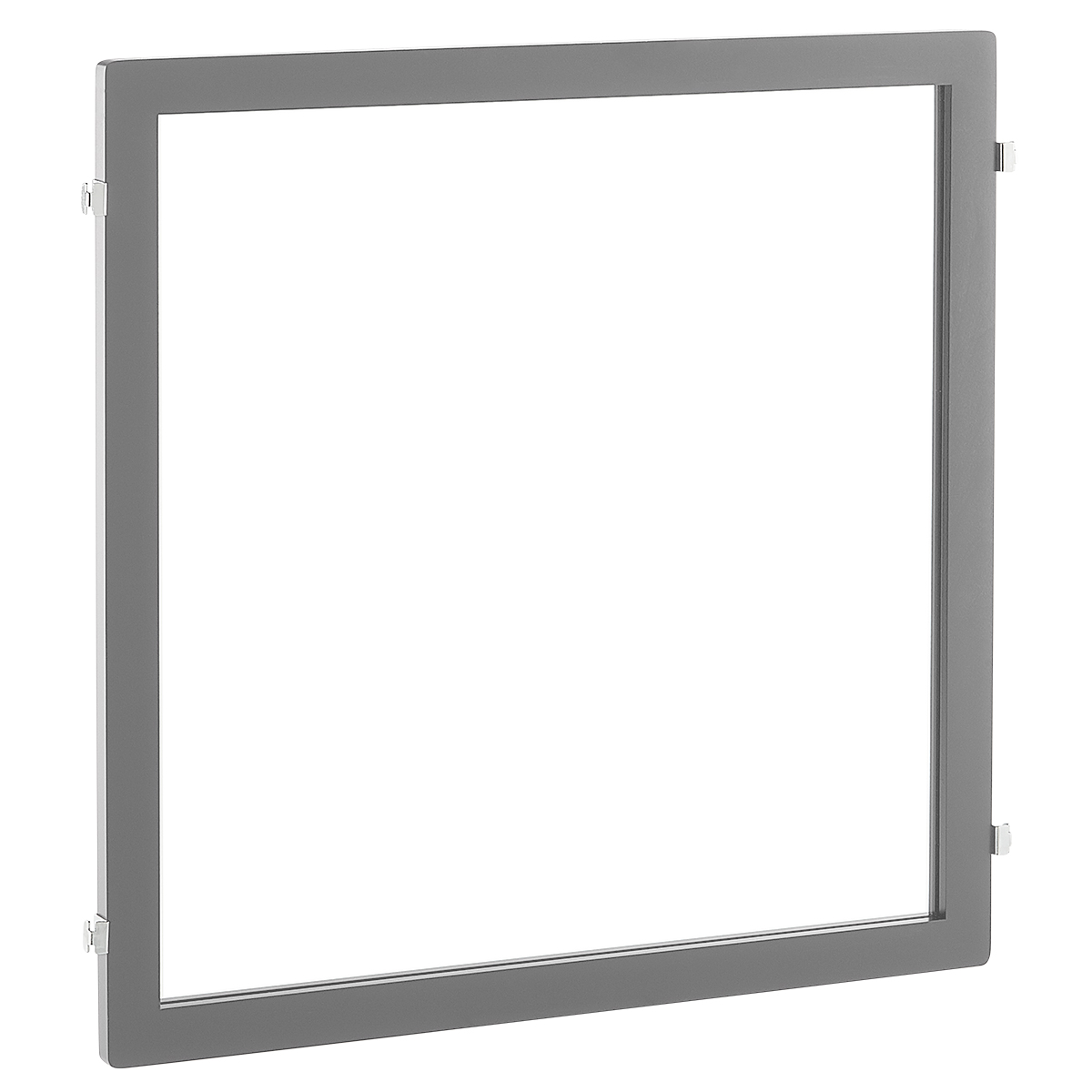 Grey Elfa Décor Mirror