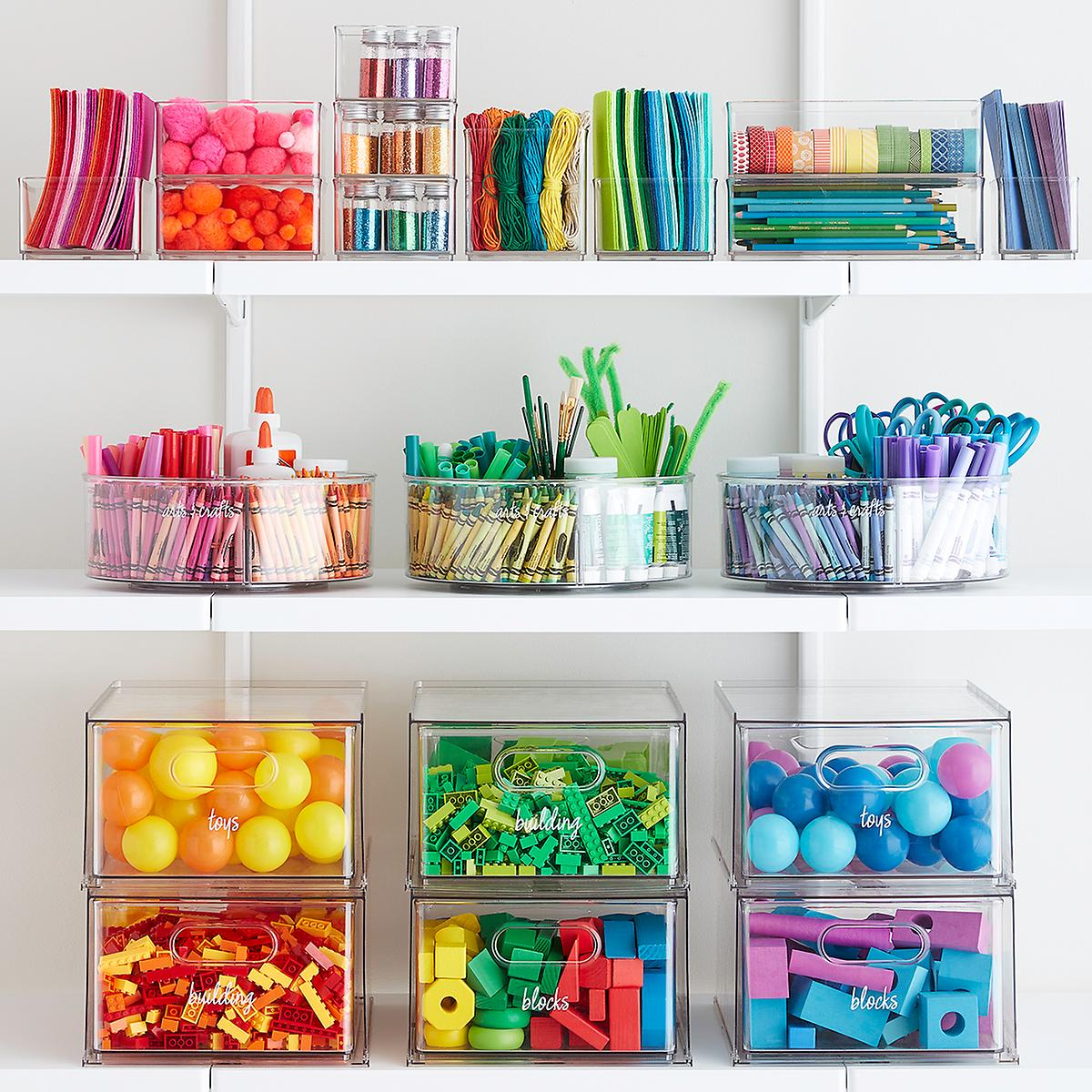 The Home Edit Toy & Craft Storage Starter Kit