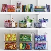 The Home Edit Toy & Craft Storage Starter Kit