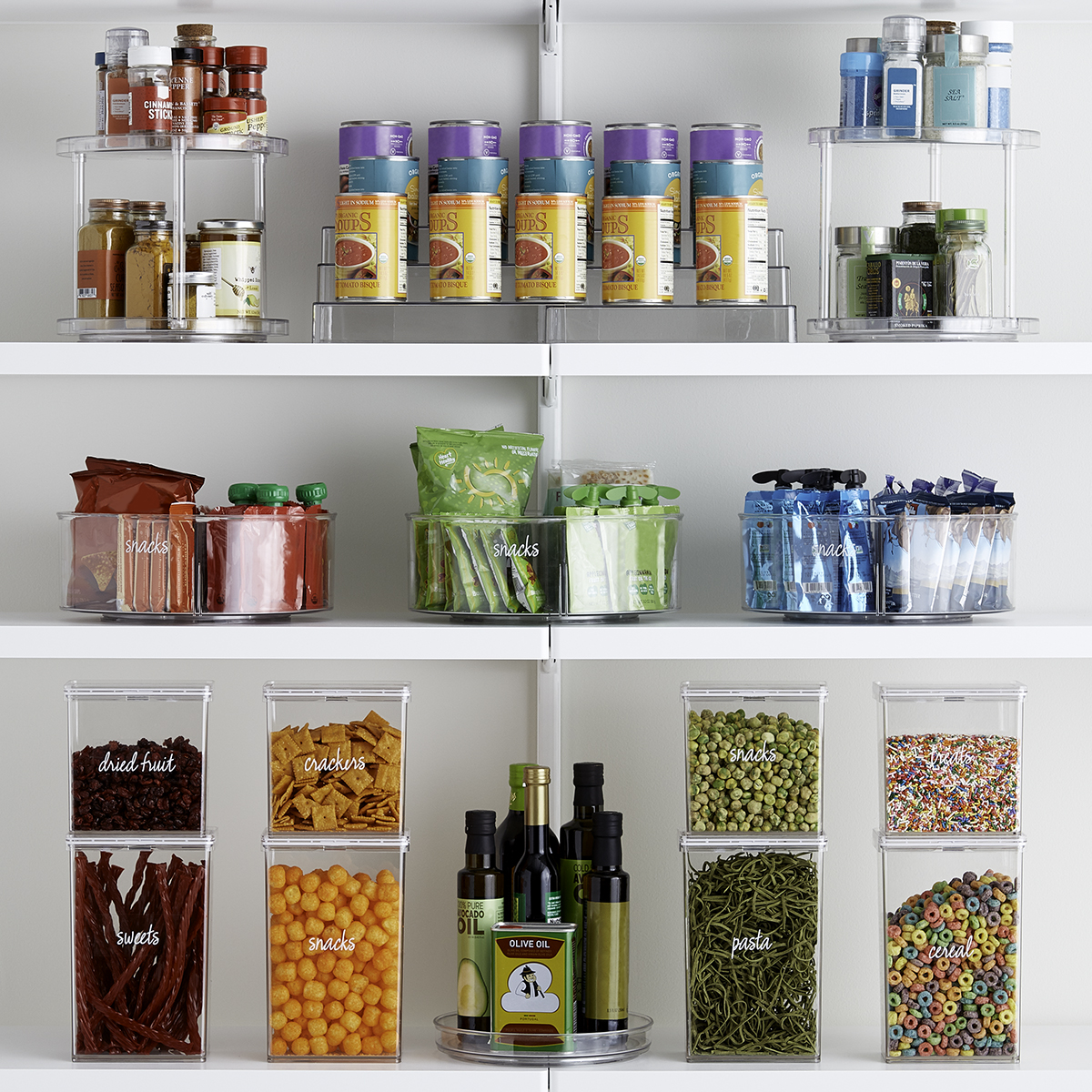 The Home Edit Kitchen Storage Solution Starter Kit