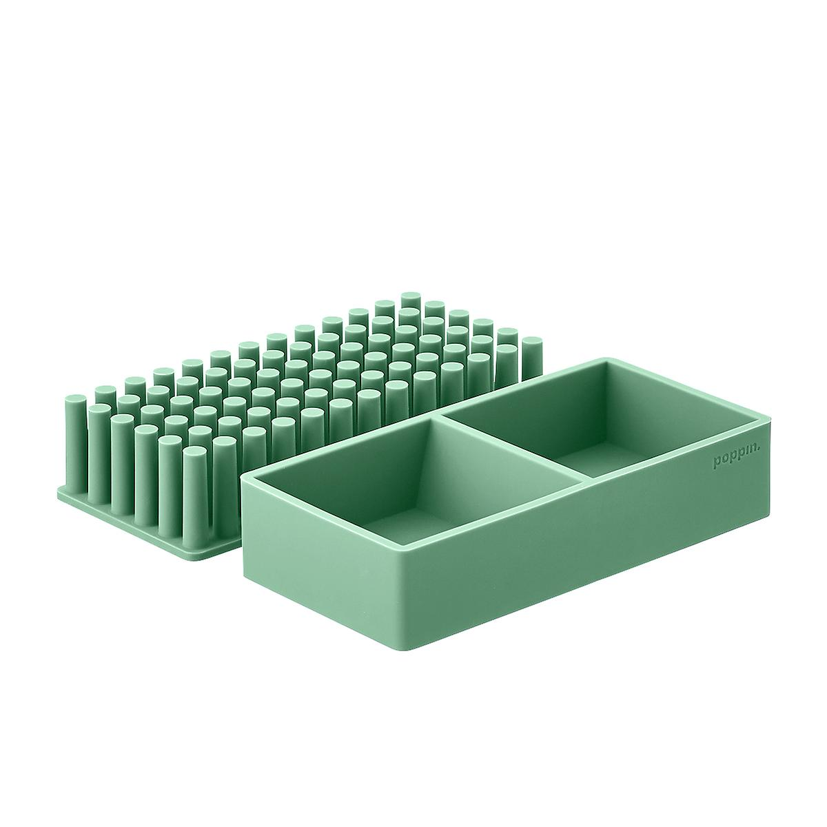 Sage Poppin Silicone Organizers